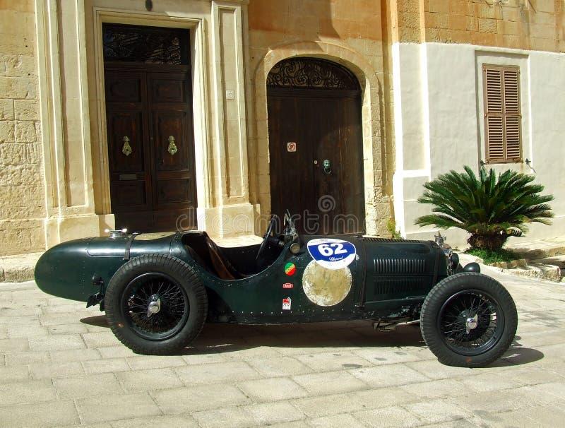 Гоночный автомобиль 1934 спрайта Riley TT стоковое изображение rf