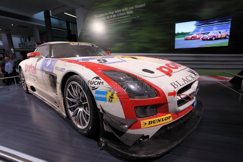 Download Гоночный автомобиль Benz SLS Мерседес Редакционное Изображение - изображение насчитывающей германия, racing: 33725980