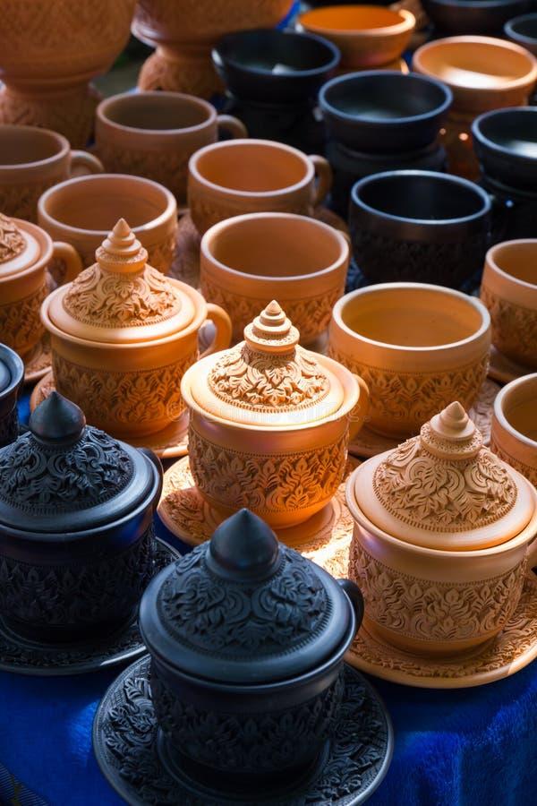 гончарня тайская стоковое изображение rf