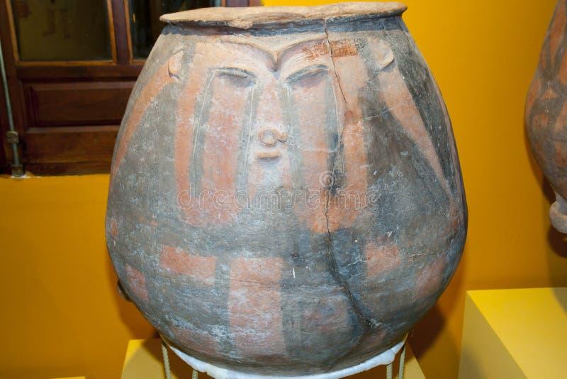 Гончарня Inca стоковое изображение rf