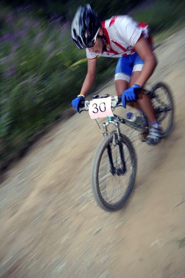 гонщик bike стоковое изображение