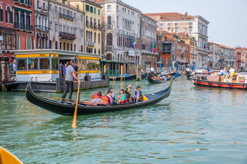 гондолы Италия venice стоковая фотография