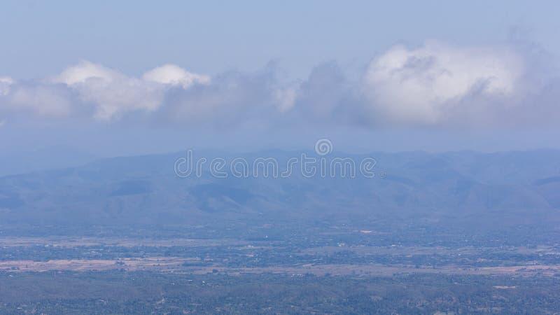 Гора варенья понедельника формы города chiangmai взгляда стоковое фото rf