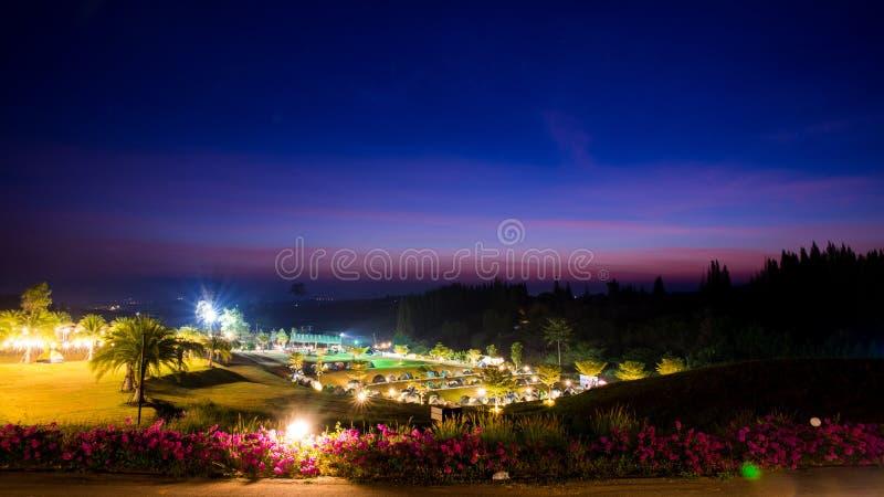 Гора восхода солнца стоковая фотография