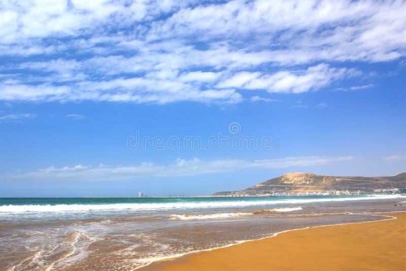 Гора в Агадире, Марокко стоковая фотография rf