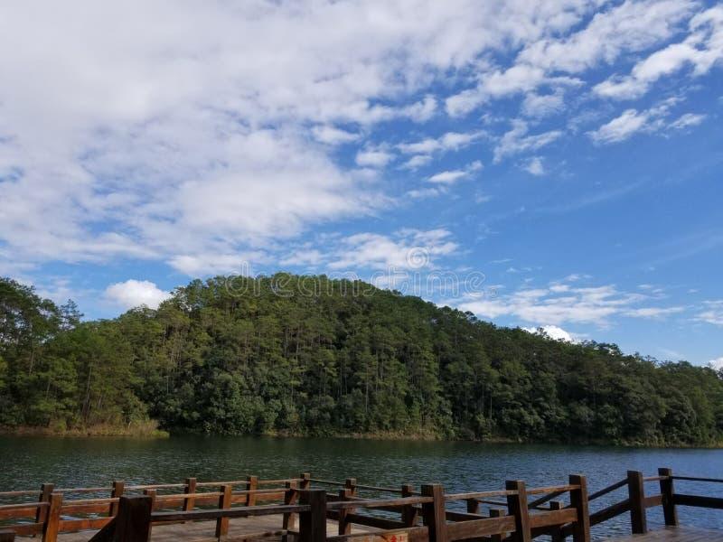 Гора в Китае стоковая фотография