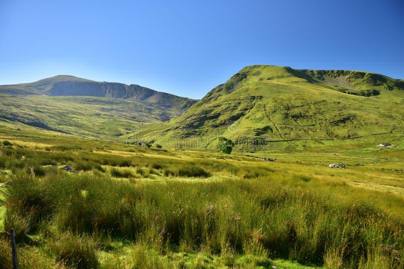 Гора в Snowdonia стоковые фото