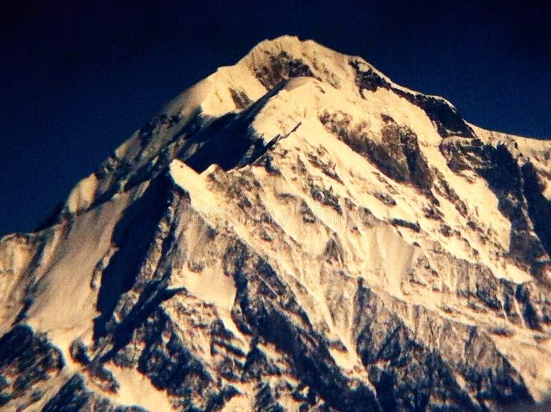 Гора Гималаев стоковое фото rf