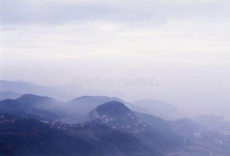 гора города стоковые фото