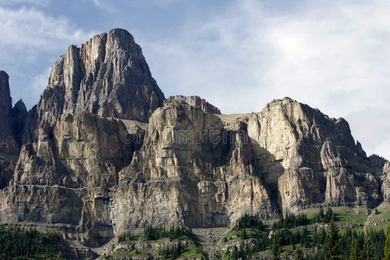 Гора замка, национальный парк Banff стоковые фото