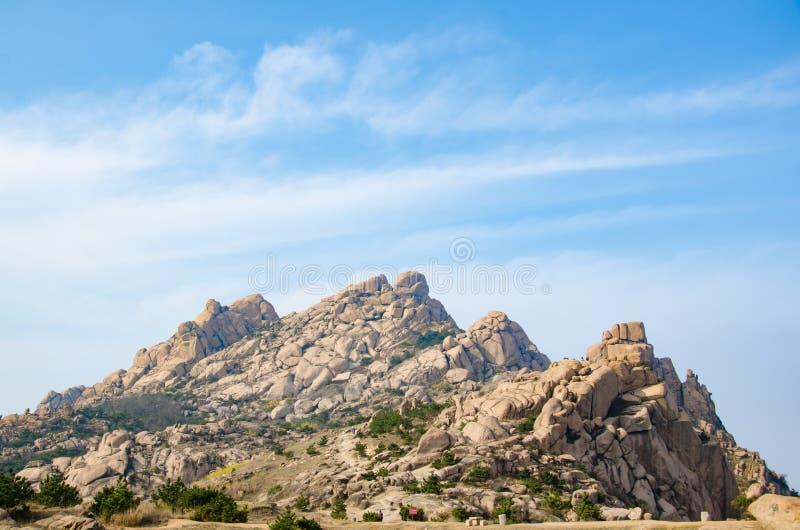 Гора камня стоковые фотографии rf