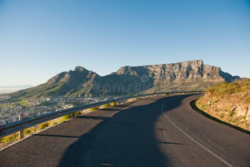 Гора Кейптаун Южная Африка таблицы стоковое изображение