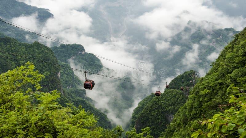 Гора Китая на Zhang Jie Jia стоковые изображения rf