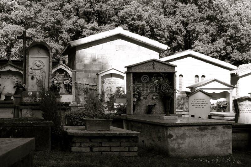 гора кладбища стоковая фотография rf