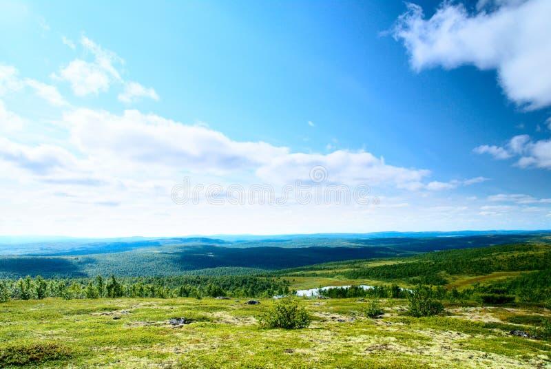 гора ландшафта озер стоковое изображение