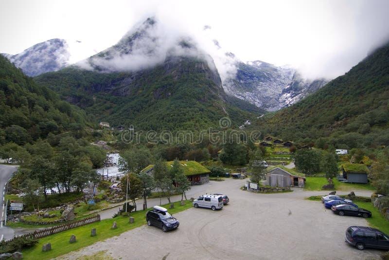 гора ледника лагеря северная стоковые изображения