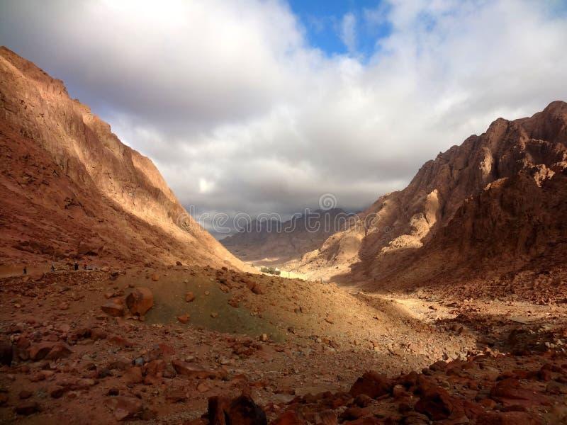 Гора Моисея стоковое изображение