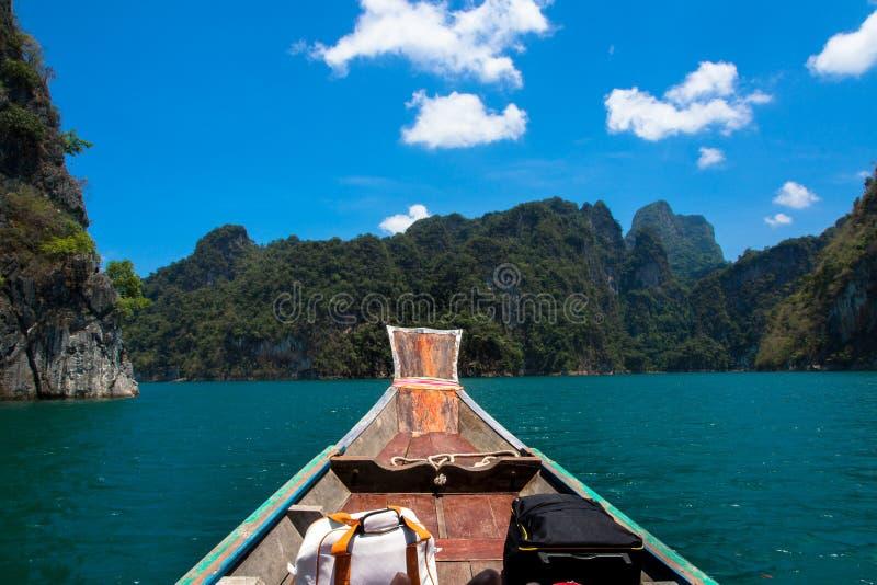 Гора на Khao-sok Suratthani, Таиланде стоковое изображение