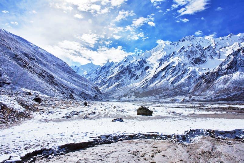 гора Непал ландшафта стоковые фотографии rf