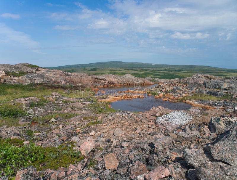 гора озера малая стоковое фото rf