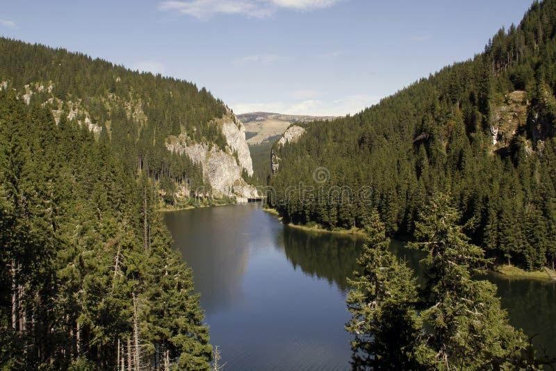 гора озера bolboci стоковые фото