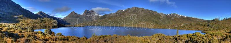 гора озера dove вашгерда стоковая фотография rf