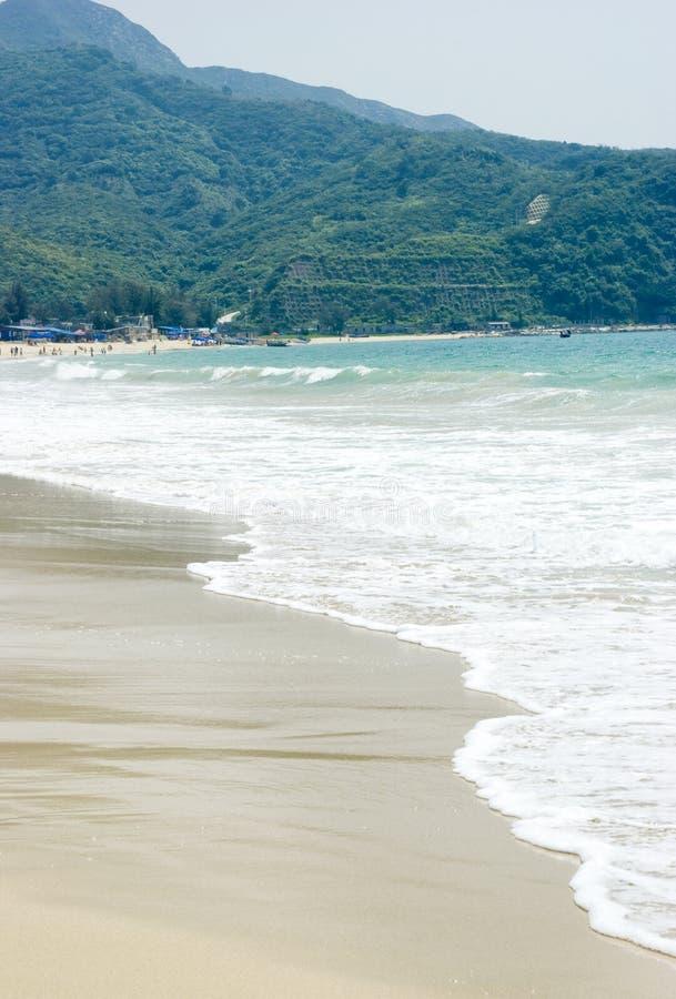 гора пляжа ближайше стоковые фотографии rf