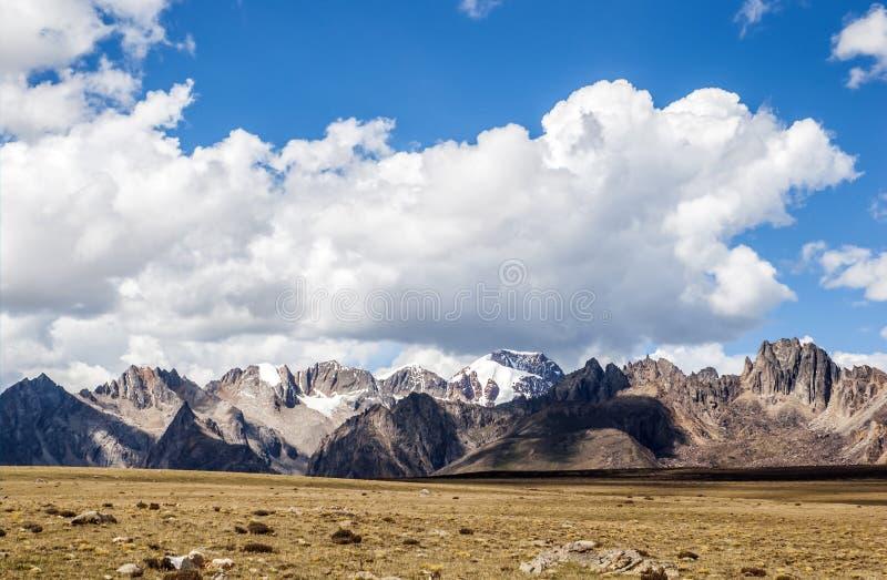 Гора плато стоковое изображение