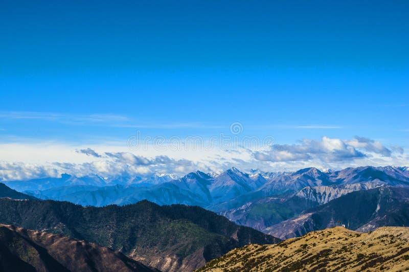 Гора плато стоковое фото