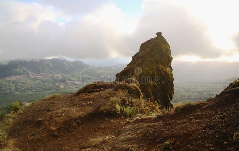 Гора седловины стоковая фотография rf