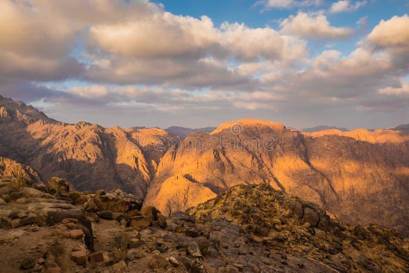 гора Синай Египет стоковое фото