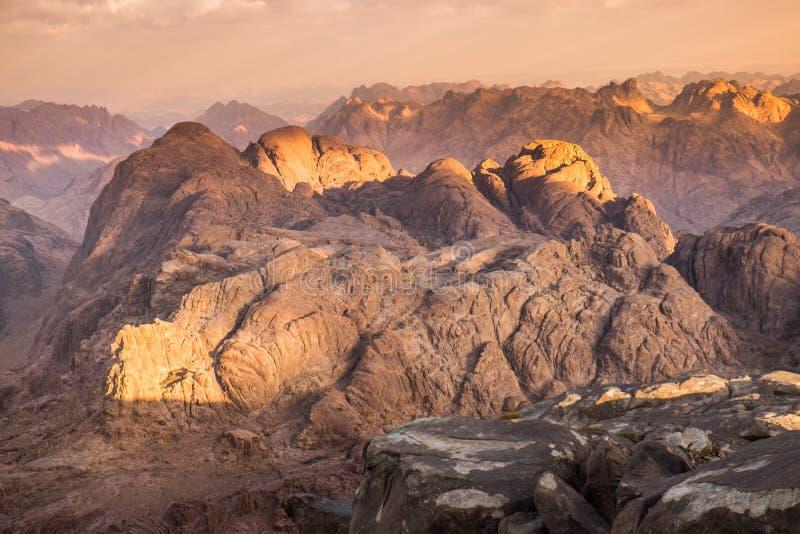 гора Синай Египет стоковое изображение rf