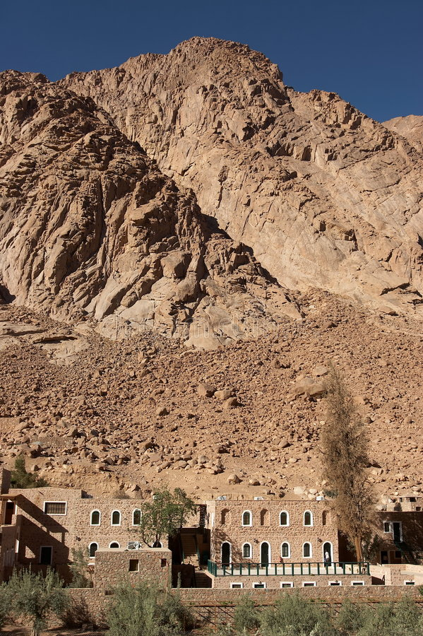 гора Синай 2 стоковые изображения rf