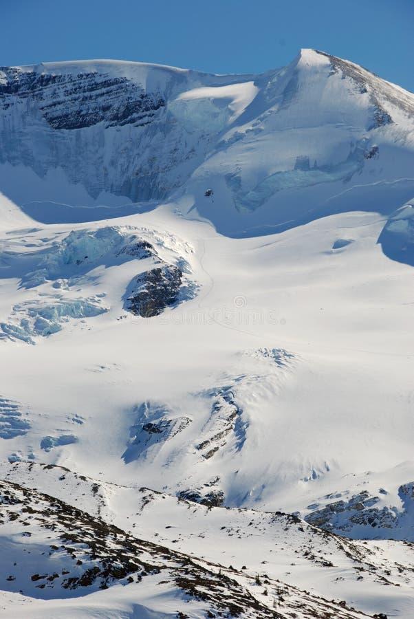 Гора снежка стоковое фото rf