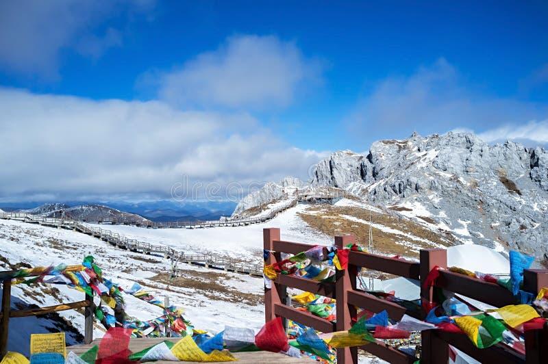 Гора снежка Shika стоковое фото rf
