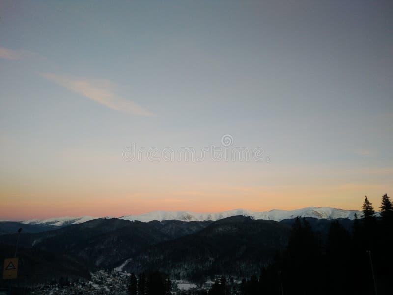 Гора спать стоковое фото rf