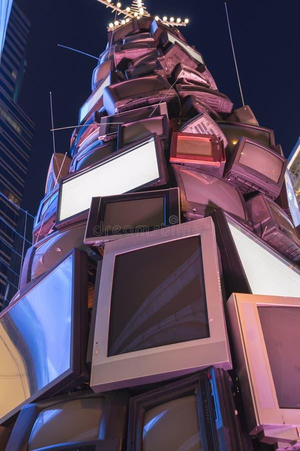 Гора ТВ стоковое изображение