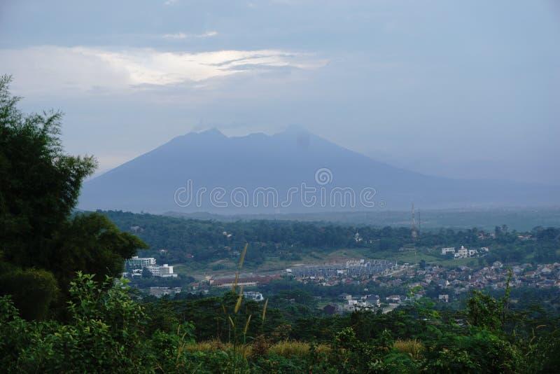 Гора тени стоковое фото rf