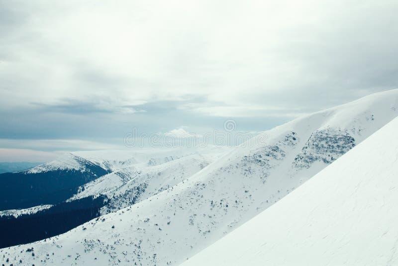 Гора украинца Goverla стоковые изображения