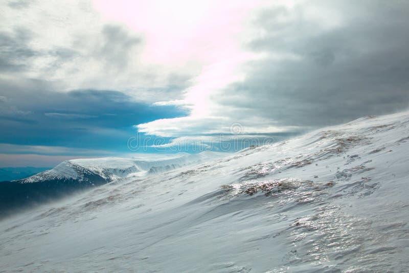 Гора украинца Goverla стоковое изображение