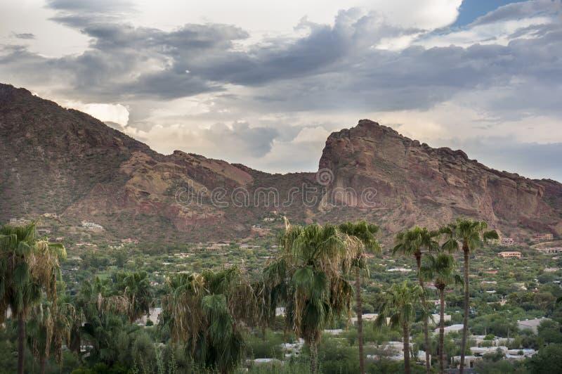 Гора Феникс Camelback, AZ стоковая фотография rf