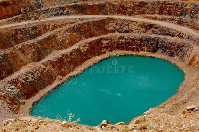 гора шахты clark стоковое изображение rf