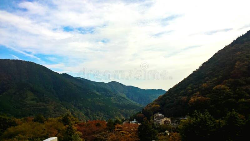 Гора Японии стоковые изображения