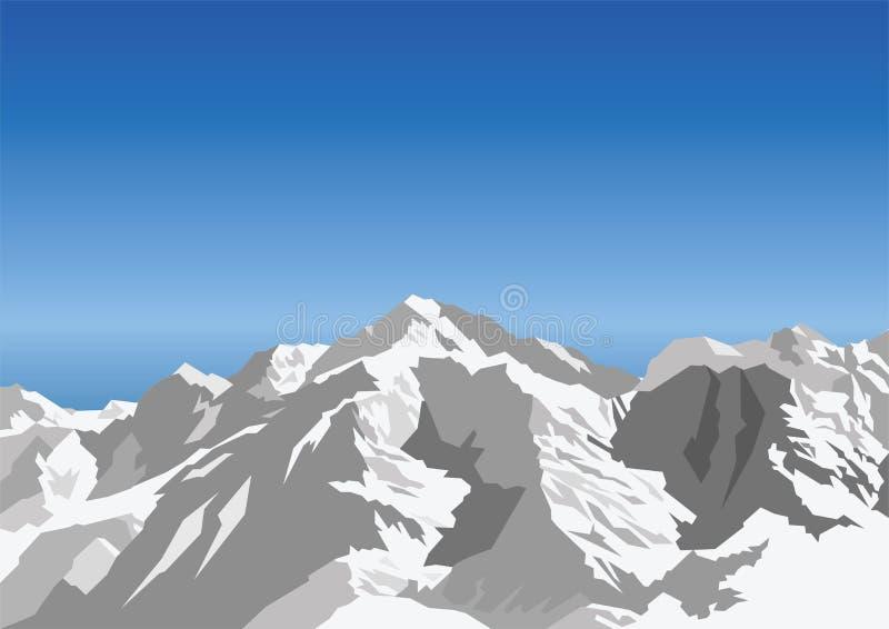 гора иллюстрация вектора
