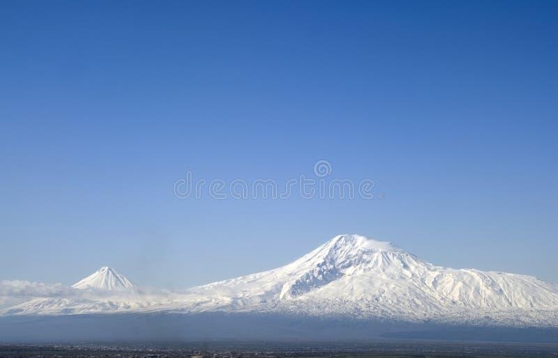 гора aragats стоковые фото