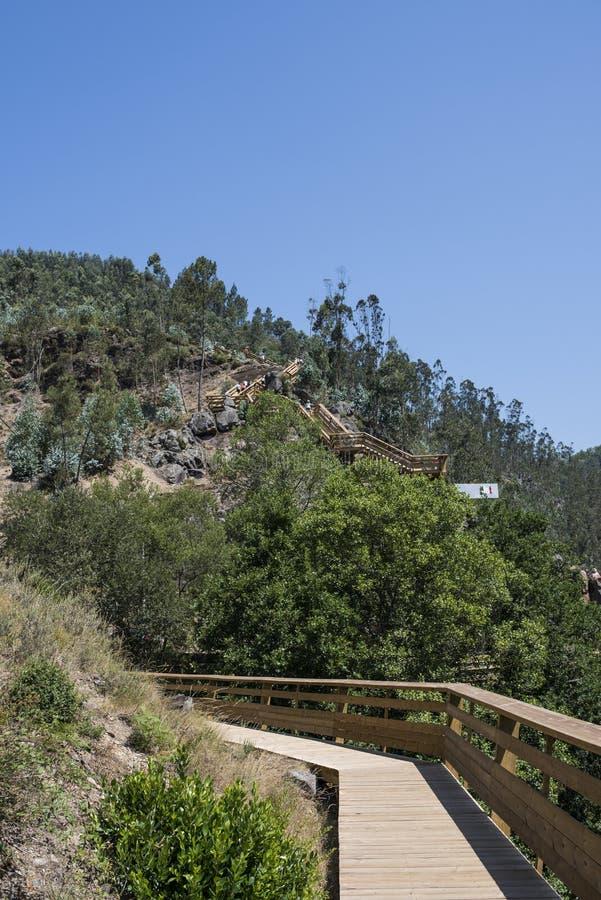 Гора Arouca стоковая фотография rf