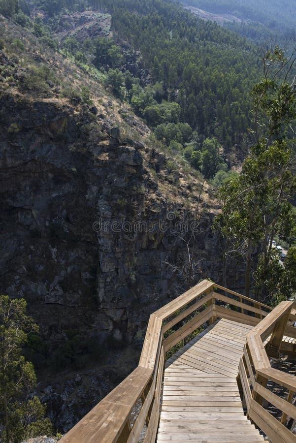 Гора Arouca стоковое фото rf