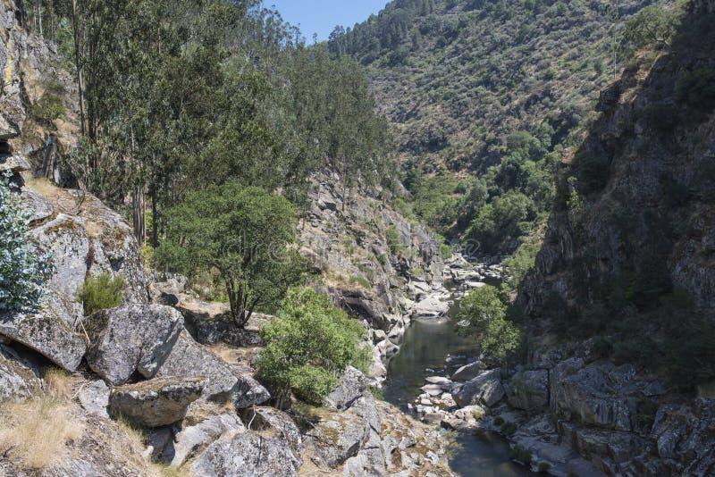 Гора Arouca стоковая фотография