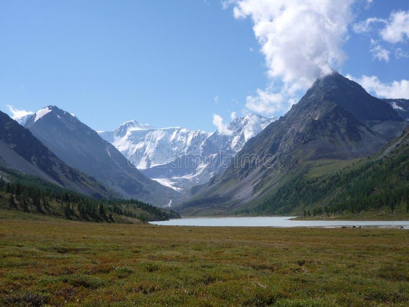 Гора Belukha, Altai стоковые изображения