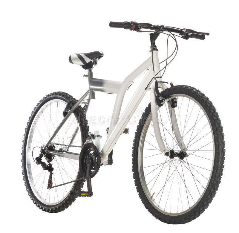 гора bike стоковое изображение rf